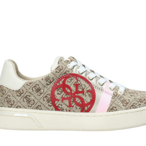 GUESS SNEAKERS DONNA PELLE BEIGE
