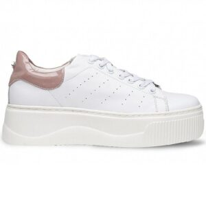 CULT SNEAKERS DONNA PELLE WHITE