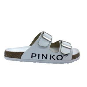 PINK SANDALO DONNA PELLE ARGEN