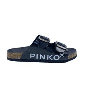 PINK SANDALO DONNA PELLE BLACK