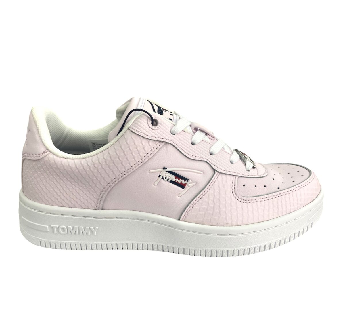 TOMMYHILFIGER SNEAKERS DONNA PELLE PINK