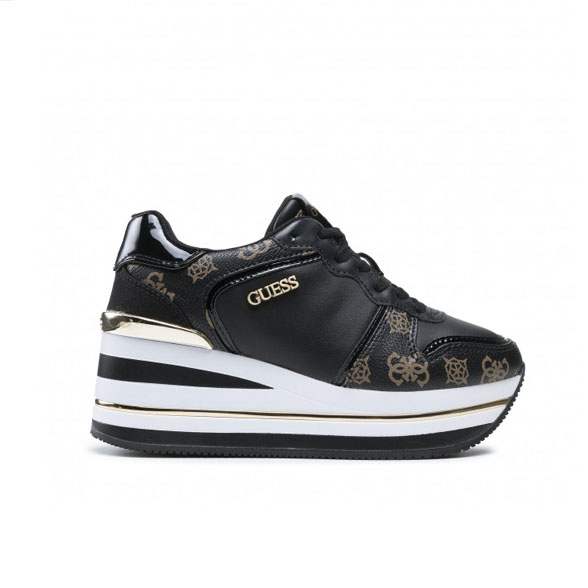 GUESS SNEAKERS DONNA PELLE BLACK