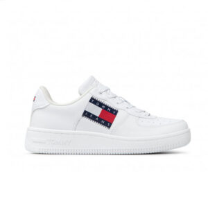 TOMMYHILFIGER SNEAKERS DONNA PELLE WHITE