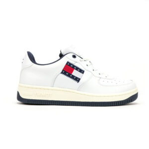 TOMMYHILFIGER SNEAKERS UOMO ECO PELLE BIANCO