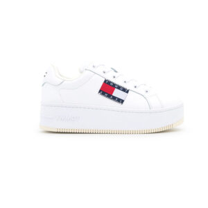 TOMMYHILFIGER SNEAKERS DONNA ECO PELLE BIANCO