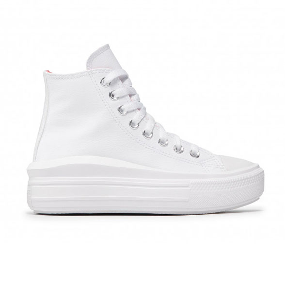 CONVERSE SNEAKERS DONNA PELLE WHITE