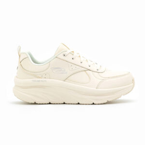 SKECHERS SNEAKERS DONNA ECO PELLE TAUPE
