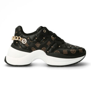 GUESS SNEAKERS DONNA ECO PELLE BLACK