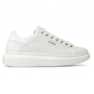 GUESS SNEAKERS UOMO ECO PELLE BIANCO